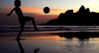 ahead of the 2014 FIFA World Cup on June 8, 2014 in Rio de Janeiro, Brazil.